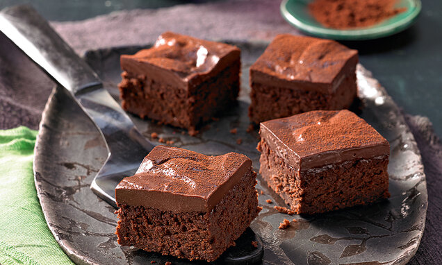 Brownies mit Roter Bete