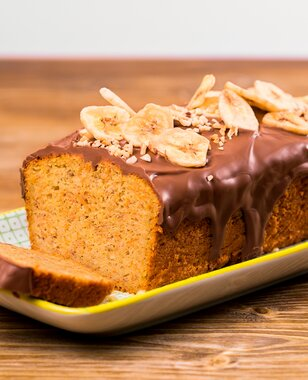 Carrot Banana Bread Cake