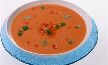 tomaten sellerie suppe