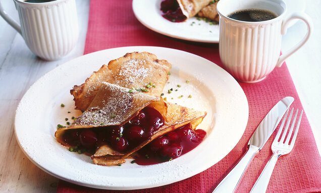 kirsch crepes