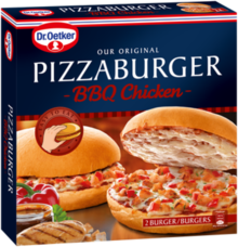 Pizzaburger BBQ Chicken