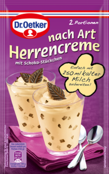 nach Art Herrencreme