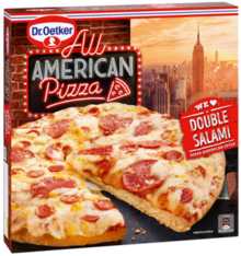 All American Pizza Double Salami