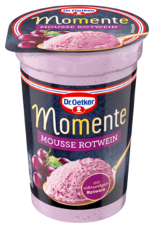 Momente Mousse Rotwein